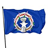 Dihui Flag of The Northern Mariana Islands State Flag 3x5 Ft Polyester Durable and Not Easy to Fade Full-Width Products, Single-Sided Printing