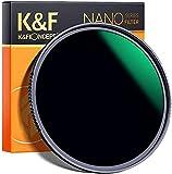 K&F Concept 72mm Filtro ND1000 10 Pasos, Filtro de Lente Densidad...