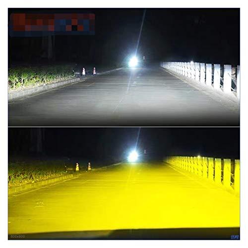 SUNYANG Summer Solstice 3000K + 6500K H1 H3 H8 H8 H1 H11 Kit de Faros LED para automóvil H7 LED CANBUS HB3 9006 HB4 Bulbos LED 12V 24V 12000LM Luces de Niebla