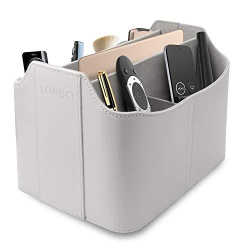Londo OTTO174 - Organizador de Piel con Ranura para Tableta, Color Blanco