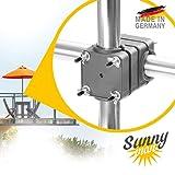Supporto per ombrellone Sunnyman – Made in Germany - Base supporto per ombrello parasole...