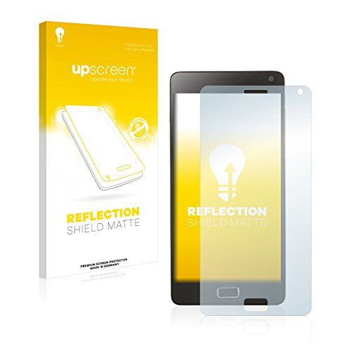 upscreen Entspiegelungs-Schutzfolie kompatibel mit Lenovo Vibe P1 – Anti-Reflex Bildschirmschutz-Folie Matt