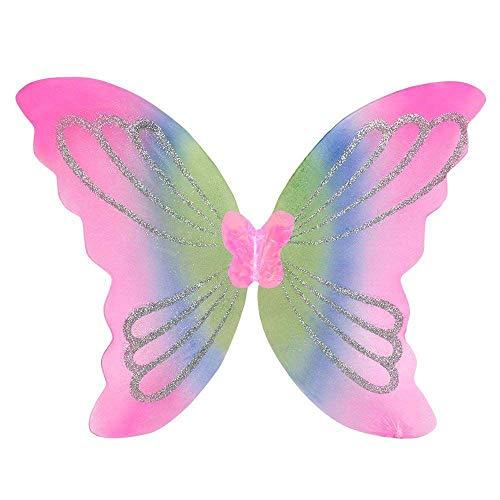 Boland AC0023 52849 - Flügel Yara für Erwachsene, Circa 46 x 44 cm, Einheitsgröße, Mehrfarbig
