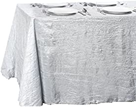 LinenTablecloth Rectangular Crinkle Taffeta Tablecloth