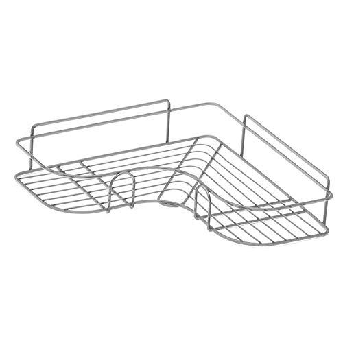 WSFANG Repisa Solidable de Almacenamiento de Acero Inoxidable Soporte de Estante montado en la Pared de triángulo para baño Dormitorio de Cocina Baño, Dormitorio, Cocina, salón, etc.