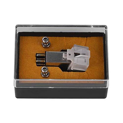 Yuyanshop Cartucho magnético de repuesto para tocadiscos con aguja de vinilo LP para tocadiscos