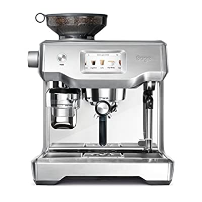 Sage SES990BSS the Oracle Touch Fully Automatic Espresso Machine, 2400 W