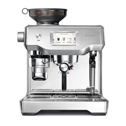 Sage Appliances SES990 Espresso-Maschine, Edelstahl, Brusched Steel