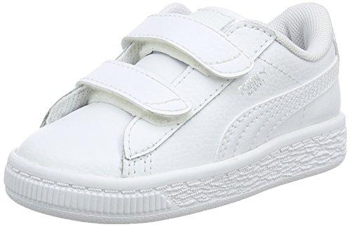 Puma Unisex Baby Basket Classic LFS V INF Sneaker, Weiß White White 1, 26 EU