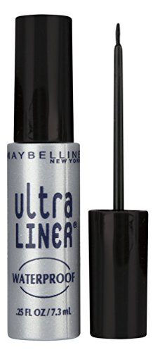 Maybelline May Ultra Delineador Líquido, color Negro
