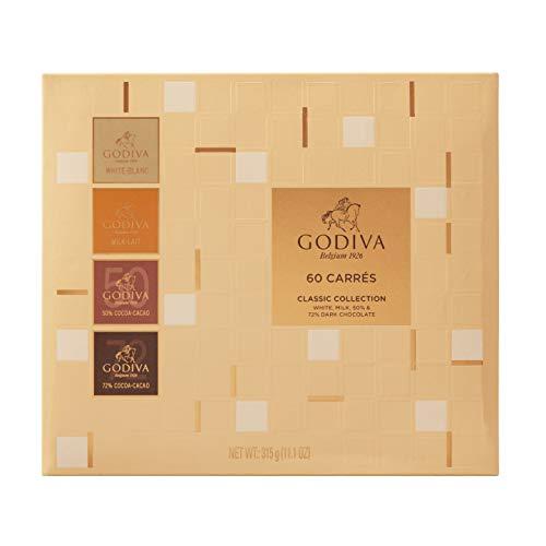 Godiva Carrés Gama Completa 310 g