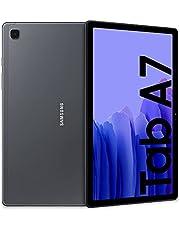 Samsung Galaxy Tab A7 tablet, display 10,4 inch TFT, 32 GB uitbreidbaar tot 1 TB, RAM 3 GB, batterij 7040 mAh, WiFi, Android 10, camera aan de achterzijde 8 MP, donkergrijs [Italiaanse versie]
