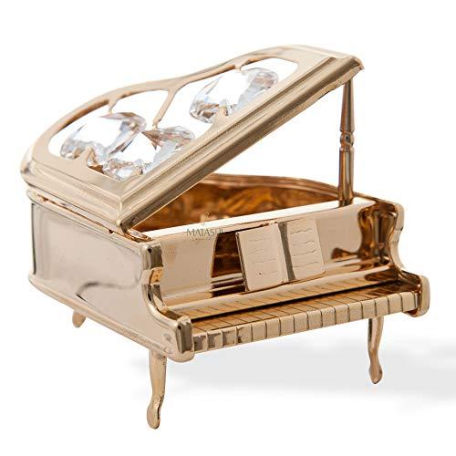 Gold Piano Ornament