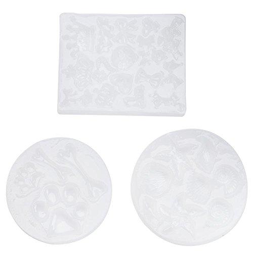 Powerlift Silicone epoxy mal kan worden gebruikt in oven, koelkast, magnetron (drie stuks)