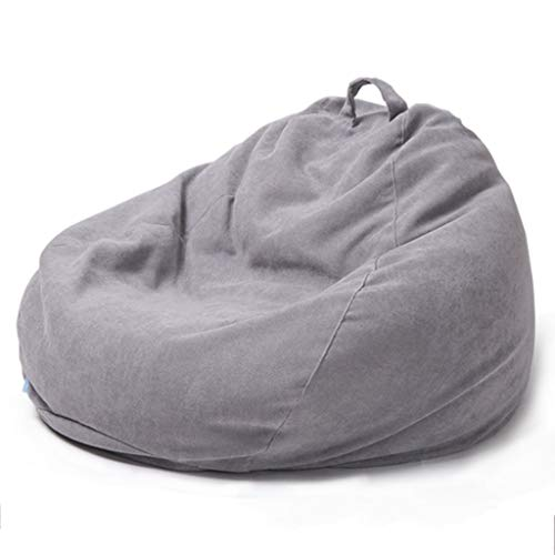 Grandes cómoda silla del bolso de haba, Posh grandes puffs con cubierta removible for los niños, adolescentes y adultos -Polyester de tela de saco Puff Tumbona de muebles for todas las edades, Inicio