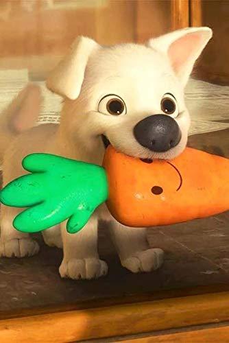 TOPHHH 75X50Cm Madera Puzzle 1000 Piezas Puzzle para Adultos Y Niños Juguete De Regalo Decoración para El Hogar De Bricolaje Película Anime Game Poster HD Bolt Lightning Dog