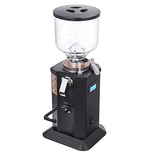 Best Bargain Red tide Household Electric Coffee Grinder 1.5L Espresso Coffee Grinder 350W Flat Whets...