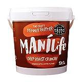 ManiLife Mantequilla de Cacahuete - Peanut Butter - Natural, de Origen único, sin Aditivos, sin...