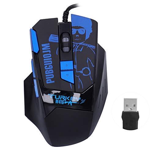 Ratón con Cable 8 Teclas para Juegos de Deportes electrónicos Retroiluminación RGB...