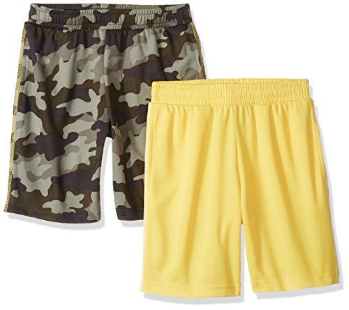 Amazon Essentials – Pantalones cortos malla niño