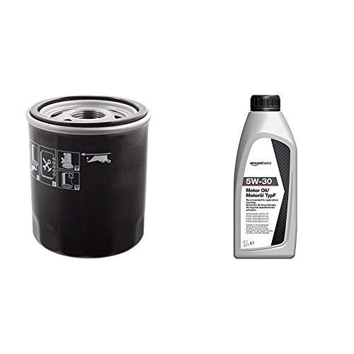 Febi 49661 Bloque de Motor + AmazonBasics - Aceite de motor