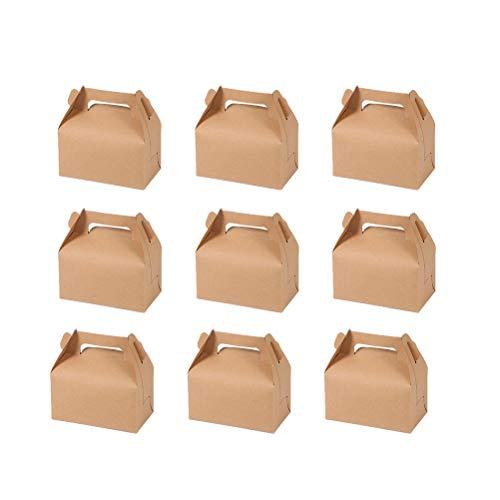 UPKOCH - Cajas de Papel de estraza para Tartas, Cupcakes, postres, Frutas,...