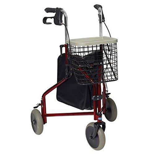 Andador adultos 3 ruedas Delta ✅