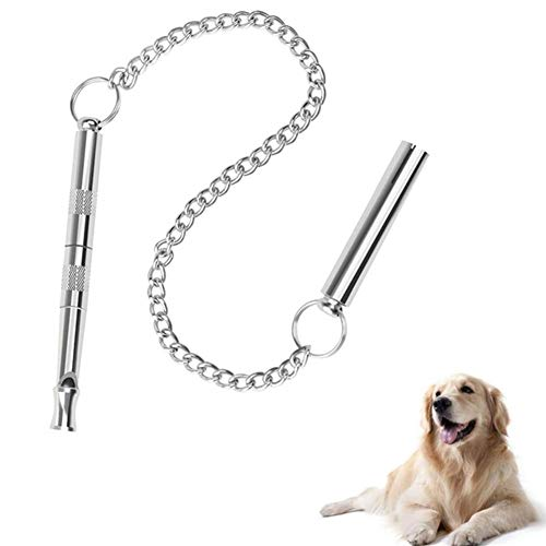othulp Fischietto Ultrasuoni per Cani Fischietto Emergenza Metallo Fischio Dog Whistle Training Silenzioso Cane Fischi Dog Training Aids Gatto Fischio