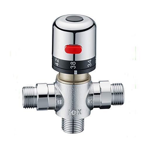 Ofgcfbvxd Hot and Cold Water Mixing Valve Faucet de la válvula de...