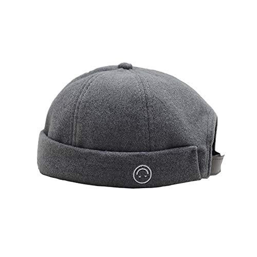 YAMEE Docker-Cap Docker Mütze Seemannsmütze Hafenmütze Bikercap Basecap ganzjährig Tragbar Hat
