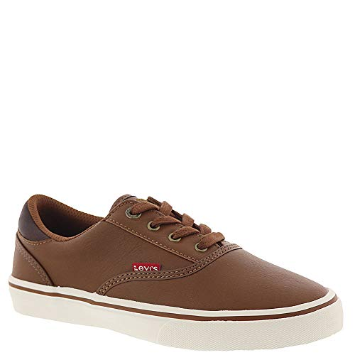 Boys Brown Canvas Shoes