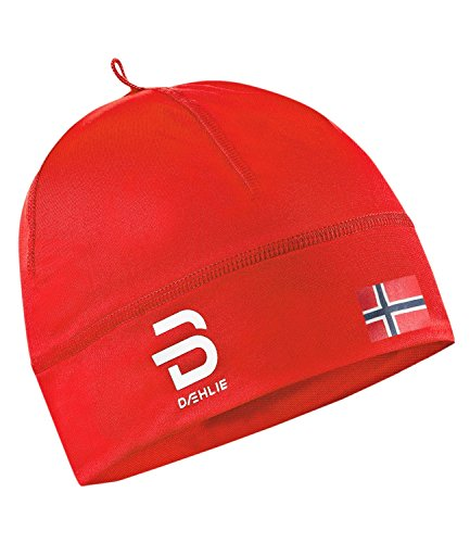 Daehlie Björn Polyknit Flag- high Risk red