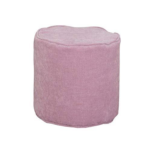 LCTCDD Tissu pour Cylindre BeanBag pour Enfants - Plancher intérieur Bean pour Enfants - 100% imperméable - Jeux d'intérieur pour Enfants (Couleur : Pink, Taille : 39 * 39cm)