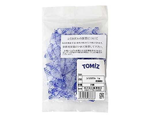 シリカゲル 1g(乾燥剤) / 25個 TOMIZ(創業102年 富澤商店)