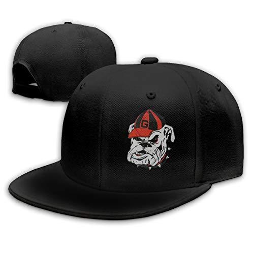 georgia bulldog flat bill hat - 9