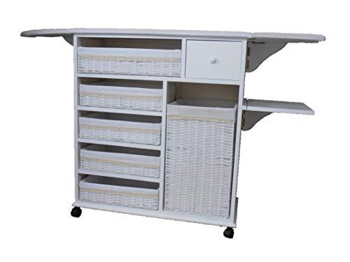 Meyvaser Mueble planchador Estoril (Blanco)