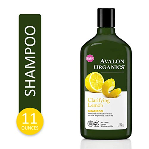 Avalon Organics Clarifying Lemon Shampoo, 11 oz.