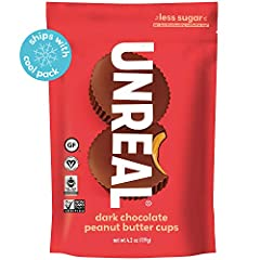 UNREAL MISSION: help create a world in which you don't have to fear your favorite foods. ONLY 5G SUGAR: we keep sugar to a minimum, without using sugar alcohols like erithrytol, stevia or artificial sweeteners. We use only the best, quality ingredien...