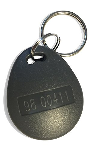 2 pcs 26 Bit Proximity Key Fobs Weigand Prox Keyfobs Tester Pack Compatable with ISOProx 1386 1326 H10301 Format Readers. Works with The vast Majority of Access Control Systems