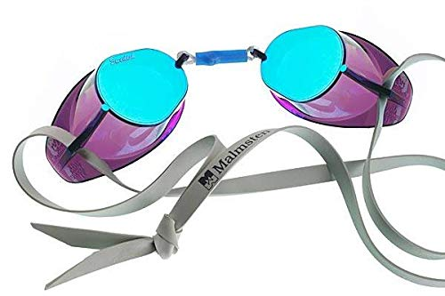 MALMSTEN Swedish Goggles Metallic, Mascherina Unisex-Adulto, Oily