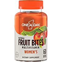 60-Count One A Day Women's Multivitamin Natural Fruit Bites