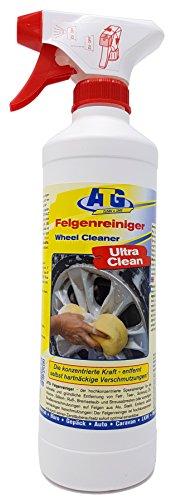 Preisvergleich Produktbild ATG Felgenreiniger Spray: Autoreiniger für Alufelgen,  Stahlfelgen und Radkappen Felgenreinigung aus der Sprühflasche 500 ml Konzentrat