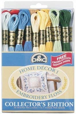 Dmc Embroidery Floss Pack 8.7yd-Home Decor 36/Pkg