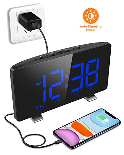 Digital Alarm Clock, ELEGIANT Al...