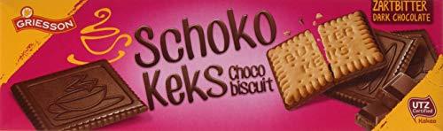 Griesson Schoko Keks Zartbitter, 16er Pack (16 x 125 g)