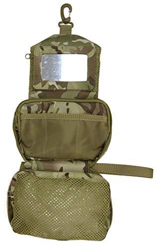 Kombat Tactical Elite Wash Bag - British Terrain Pattern/MTP Camp Military/Army/Cadets