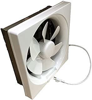 Professional Grade Products 9800394 Shutter Exhaust Fan for Garage Shed Pole Barn Hydroponic Ventilation, 265 CFM, 6