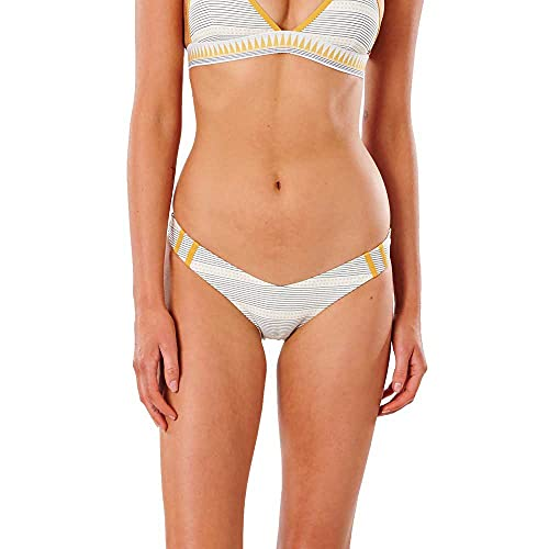 Rip Curl Bikini Salty Daze Skimpy Pant - Gold S