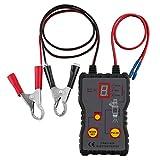 color tree 12V Probador de inyectores de Combustible 4 Modos Pluse Herramienta analizadora de comprobación de diagnóstico de Coche