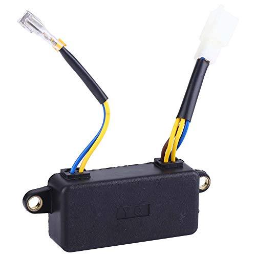 SANON Regulador de Voltaje Automático Regulador de Voltaje de 250V 220Uf Avr Universal para Generador 1-3Kw